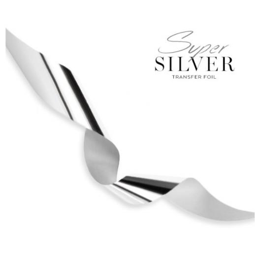 Super Silver - transfer foil
