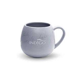 Indigo Gray Ceramic Mug