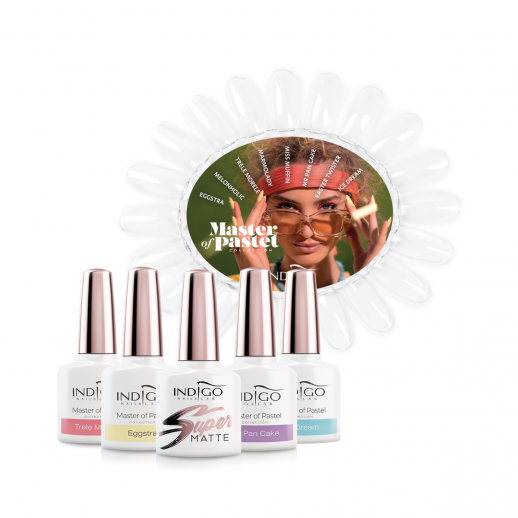 Master of Pastel Collection - 8 colors + Super Matte Top Coat + color chart FOR FREE